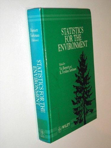 9780471934677: Statistics for the Environment (Volume 1)