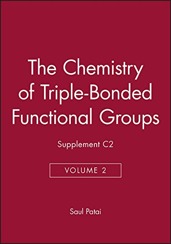 The Chemistry of Triple-bonded Functional Groups: v. 2 (Hardback): Saul Patai