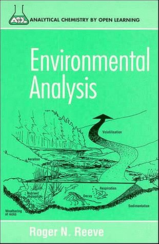 9780471938330: Environmental Analysis (Analytical Chemistry by Open Learning)