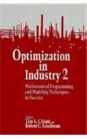 Optimization in Industry (Volume 2): Tito A. Ciriani