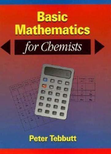 9780471943716: Basic Mathematics for Chemists