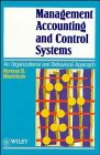 9780471944096: Management Accounting and Control Systems: An Organizational and Behavioural Approach