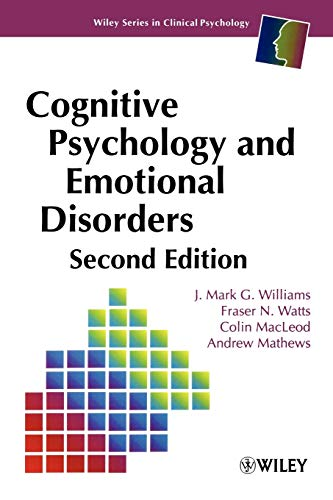 9780471944300: Cognitive Psychology and Emotional Disorders, 2nd Edition