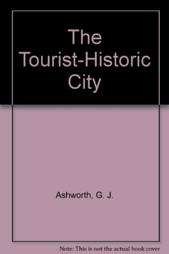 9780471944713 Tourist Historic City Iberlibro G J Ashworth