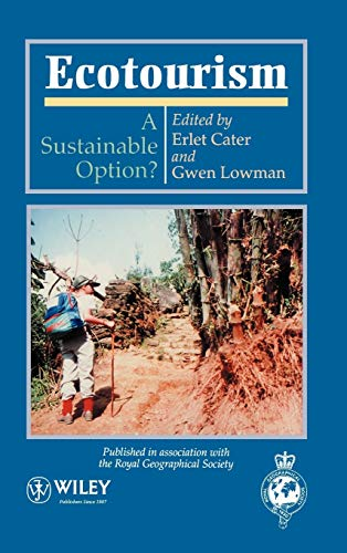 9780471948964: Ecotourism: A Sustainable Option (Royal Geographic Society Academic)