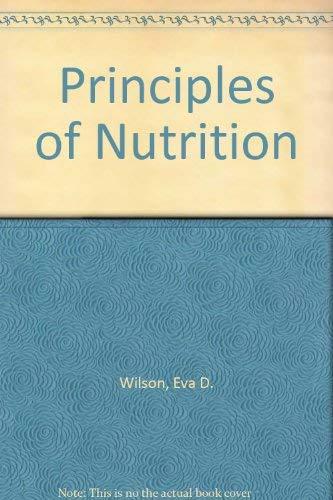 9780471949800: Principles of Nutrition
