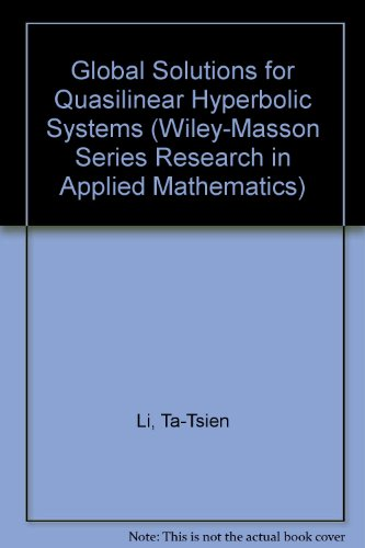 Global Classical Solutions for Quaslinear Hyberbolic Systems [Mar 03, 1994] L.
