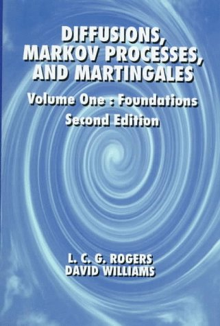 9780471950615: Diffusions, Markov Processes, and Martingales, 2E, Vol. 1, Foundations