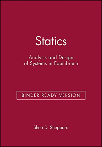 9780471950981: Statics: Analysis and Design of Systems in Equilibrium