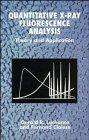 9780471951674: Quantitative X-Ray Fluorescence Analysis: Theory and Application