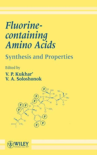 9780471952039: Fluorine-containing Amino Acids: Synthesis and Properties