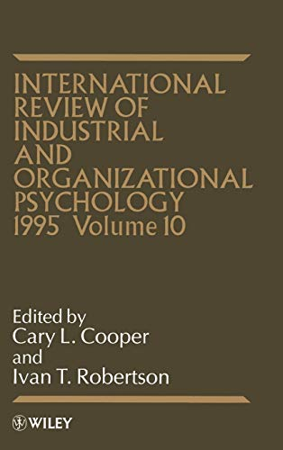 9780471952411: 1995, International Review of Industrial and Organizational Psychology