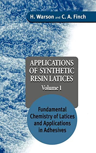 9780471952688: Applications of Synthetic Resin Latices Volume 1: Fundamental Chemistry of Latices and Applications