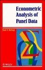 9780471952992: Econometric Analysis of Panel Data