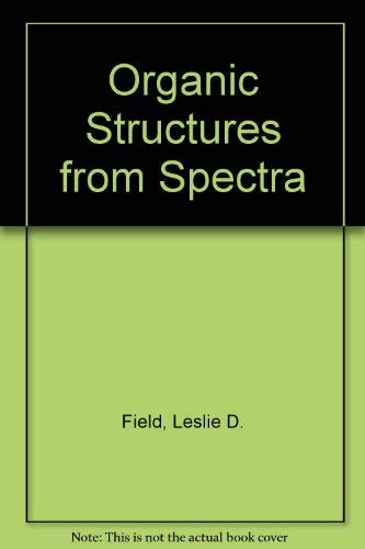 9780471956303: Organic Structures from Spectra