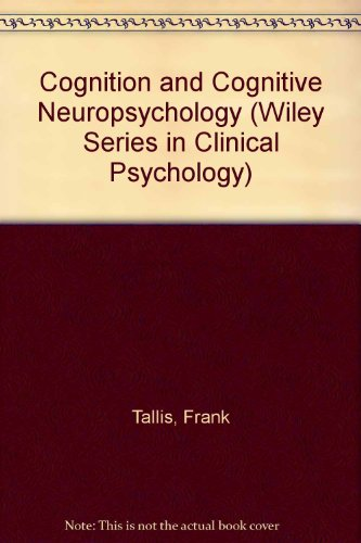 9780471957751: Obsessive Compulsive Disorder: A Cognitive Neuropsychological Perspective (Wiley Series in Clinical Psychology)