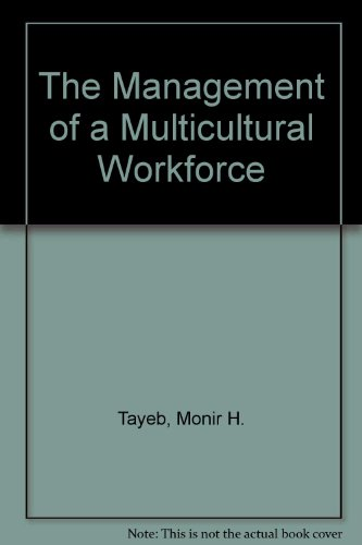 9780471958055: The Management of a Multicultural Workforce
