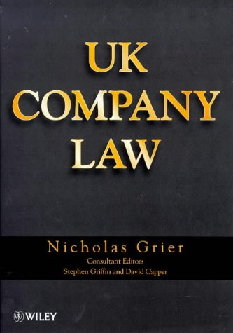 9780471958369: Uk Company Law