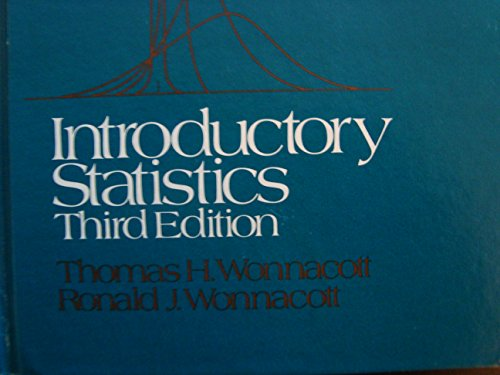 9780471959823: Introductory Statistics (Probability & Mathematical Statistics)
