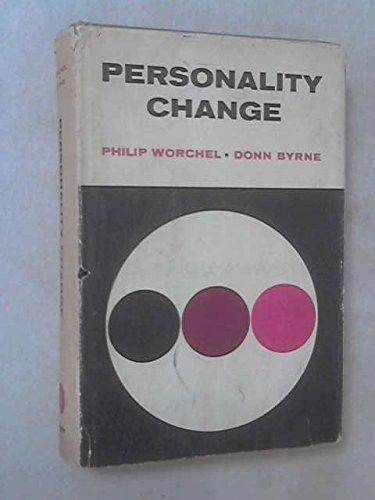 Personality Change: Worchel, Philip [Editor];