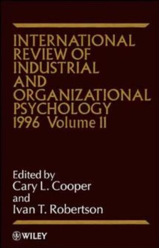 International Review of Industrial and Organizational Psychology 1996 (Hardback): C. L. Cooper