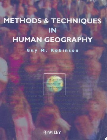 9780471962311: Methods and Techniques in Human Geography