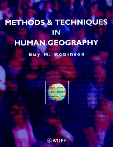 9780471962328: Techniques and Methods in Human Geography