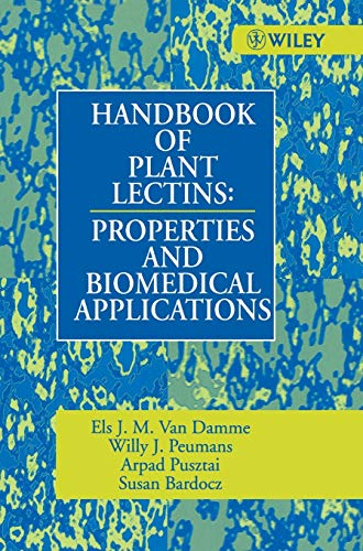 9780471964452: Handbook of Plant Lectins: Properties and Biomedical Applications