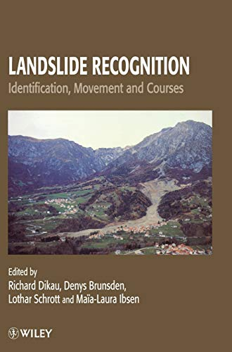 9780471964773: Landslide Recognition: Identification, Movement and Courses (International Association of Geomorphologists)