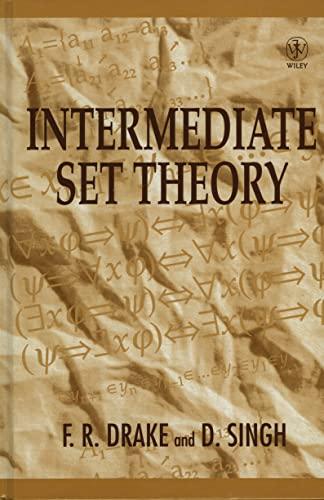 9780471964940: Intermediate Set Theory