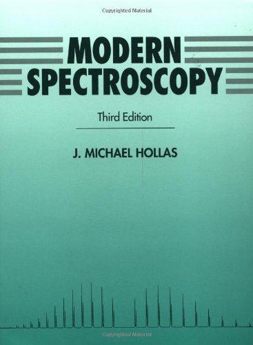 Modern Spectroscopy, 3rd Edition