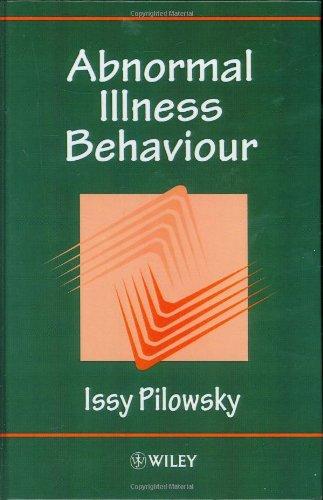 9780471965732: Abnormal Illness Behaviour