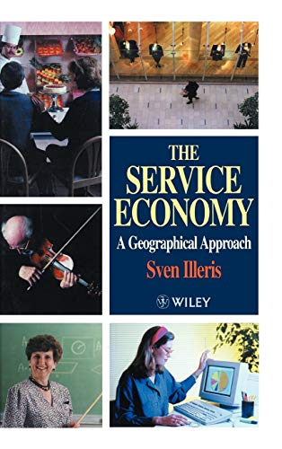 9780471966180: The Service Economy: A Geographical Approach