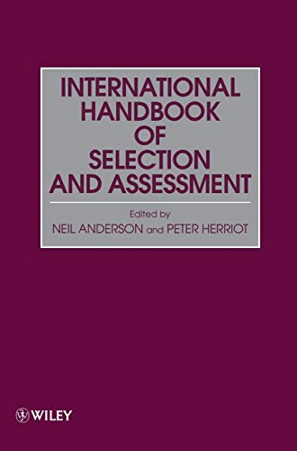 9780471966388: Assessment and Selection in Organizations: Methods and Practice for Recruitment and Appraisal, Volume 2, International Handbook of Selection and Assessment