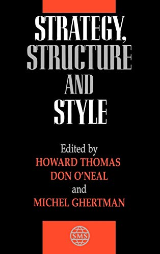 9780471968825: Strategy, Structure and Style