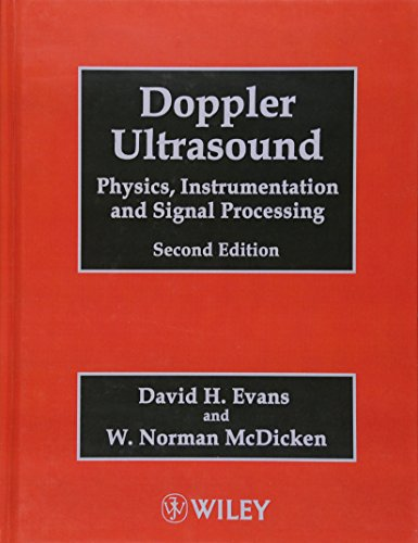 9780471970019: Doppler Ultrasound: Physics, Instrumentation and Signal Processing
