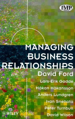 9780471970750: Managing Business Relationships
