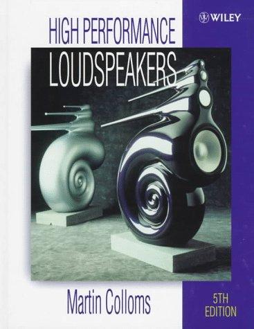 9780471970910: High Performance Loudspeakers
