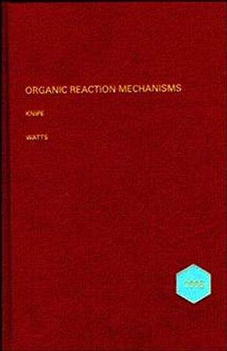 Organic Reaction Mechanisms 1995 (Hardback)
