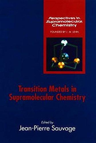 Transition Metals In Supramolecular Chemistry (Perspectives In Supramolecular Chemistry)