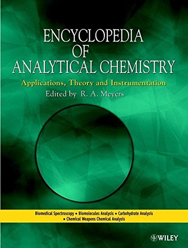 9780471976707: Encyclopedia of Analytical Chemistry: Applications, Theory, and Instrumentation, 15 Volume Set