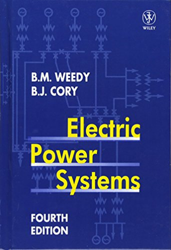 9780471976776: Electric Power Systems, 4th Edition