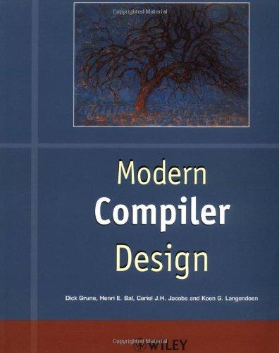 9780471976974: Modern Compiler Design (Worldwide Series in Computer Science)