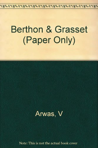 9780471977407: Berthon & Grasset (Paper Only)