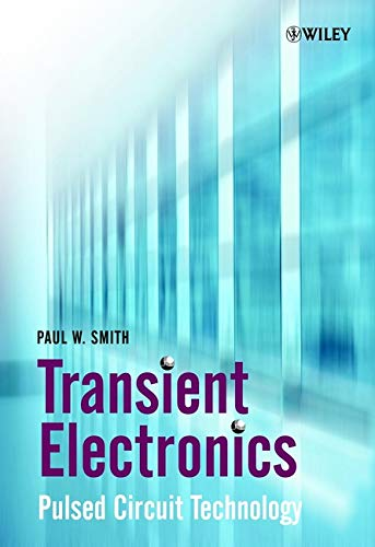 Transient Electronics 9780471977735 Passive Pulse Generators are circuits used to generate very high power electrical pulses. Such pulses find application in a wide range of disciplines, including plasma generation, gas laser physics and radar. * Includes two introductory chapters on techniques used to analyse passive pulse generators * Includes worked examples A valuable reference resource for specialist undergraduates, post graduate students and researchers active in the field og pulsed power and areas where pulsed power is applied, including physicists, engineers and those with an interest in waste and materials processing.