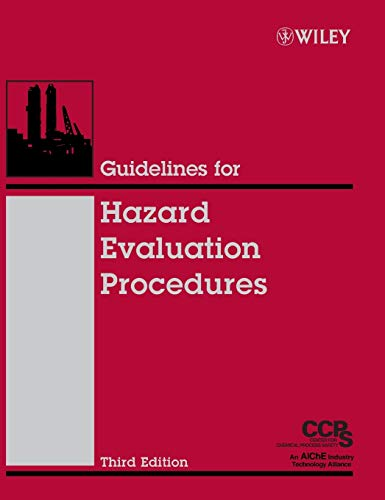 9780471978152: Guidelines for Hazard Evaluation Procedures