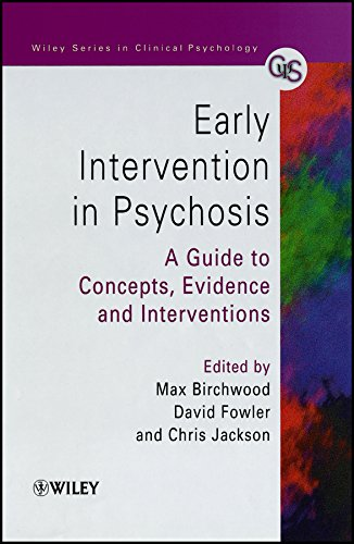 9780471978664: Early Intervention in Psychosis: A Guide to Concepts, Evidence and Interventions (Wiley Series in Clinical Psychology)