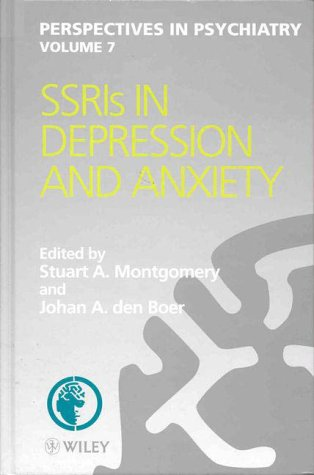 9780471978770: SSRIs in Depression and Anxiety (Perspectives in Psychiatry)