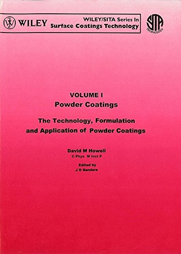 Powder Coatings: The Techno Logy Formulation And Application Of Powder Coatings (Wiley/Sita ...