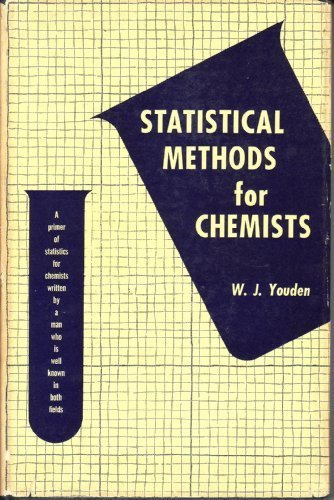 9780471979111: Statistical Methods for Chemists